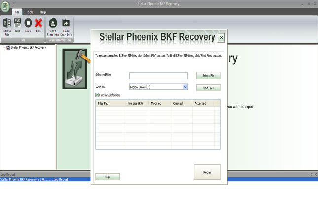 Stellar Phoenix Windows Backup Recovery Demo