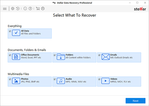 Recovers all lost Windows hard disk data