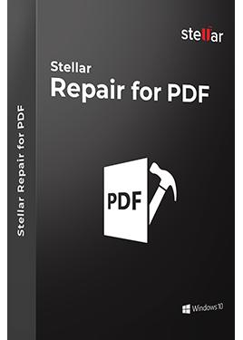 Stellar Repair for PDF