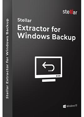 Stellar Extractor for Windows Backup